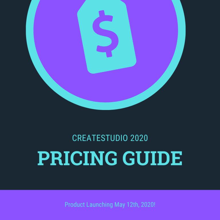 Createstudio cost createstudio price