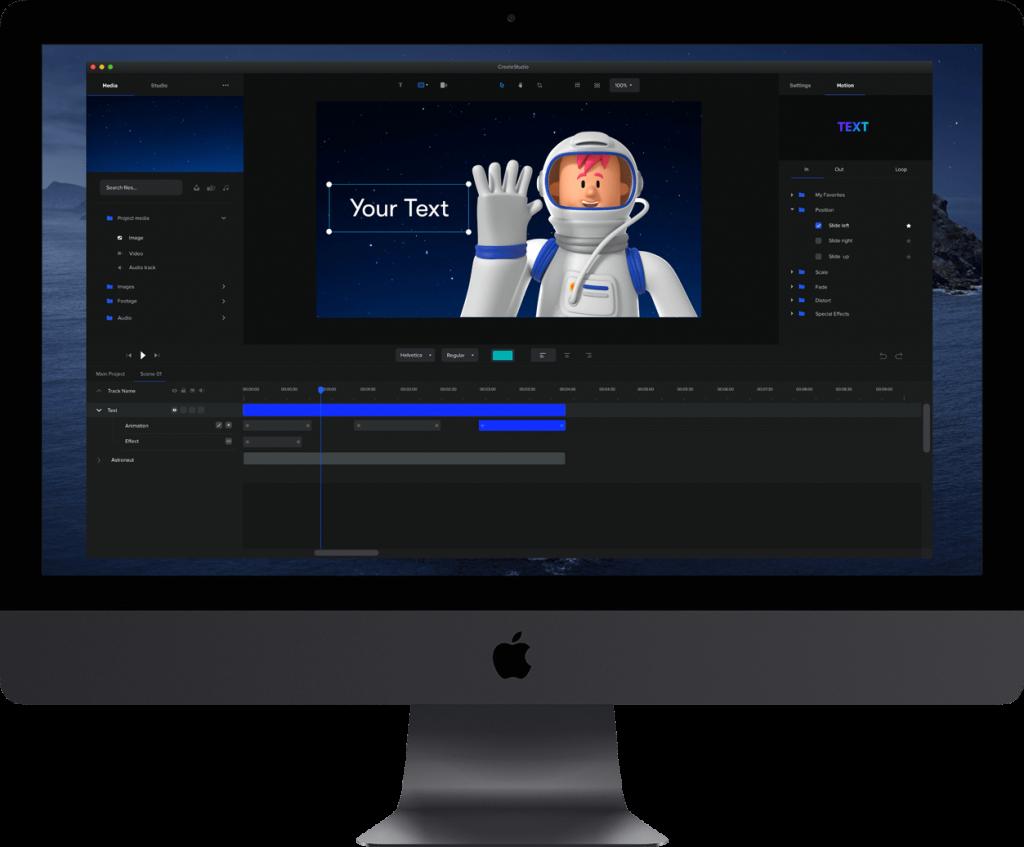 CreateStudio Software Preview
