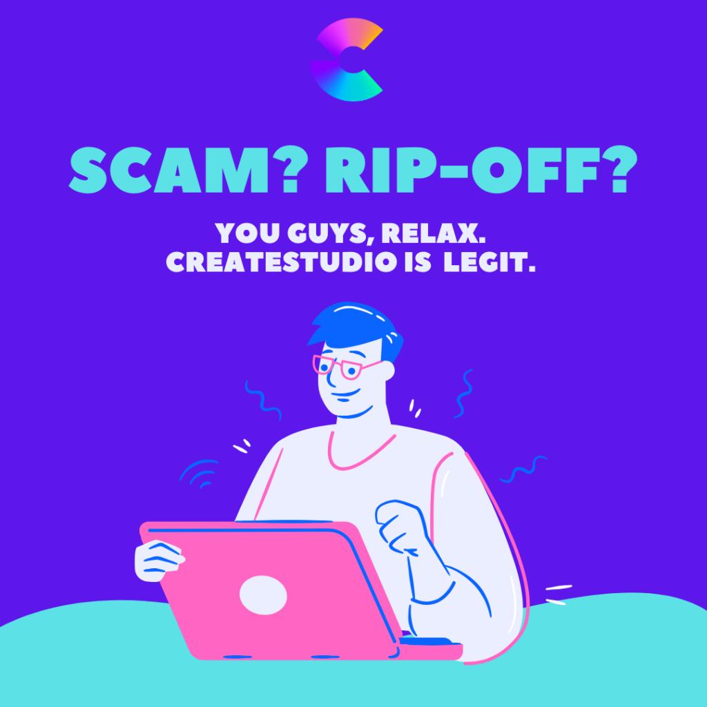 is CreateStudio a scam